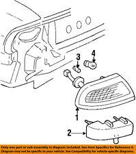 Buick GM OEM 97-99 LeSabre Taillight Tail Light-Rear-Filler Left 25624851