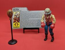 Vintage 1987 G.I. Joe Action Figure - Big Boa - With Accessories