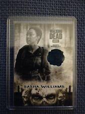 The Walking Dead Hunters & Hunted - Sasha Williams Costume Card