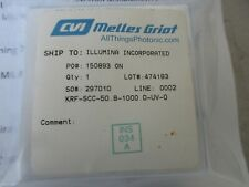 "New listing Cvi Krf-Scc-50.8-1000.0-Uv Plano-Concave 2"" Lens Fl=-2000mm for eximer Uv laser"