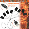 USB Electric Clothes Heater Sheet Adjustable Winter Heating 8 Pads Warmer  ! !