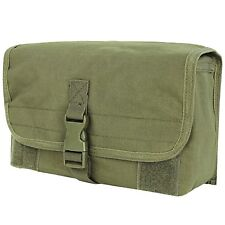 Condor OD Green MA11 Tactical MOLLE Utility Web PALS Modular Gas Mask Pouch