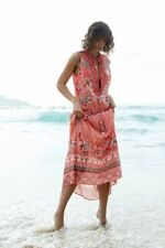 NWT LOLA AUSTRALIA Ruby Cotton Maxi Dress SIZE M RRP $229