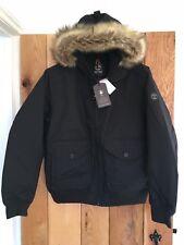 Mens Man Timberland Winter Parka Waterproof Coat Jacket Black Extra Large XL NEW
