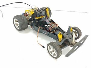 Vintage Tamiya Plastic Tub Chassis 1/10 RC Car ARTR Untested Electronics Proline
