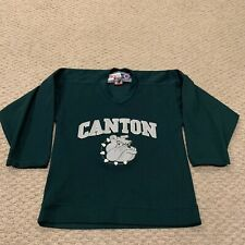 VTG Canton Bulldogs High School Hockey Jersey CCM Youth Boys S/M