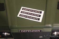 Pre-Cut Decal DEFENDER logo for Gelande D90 D110 RC4WD Land Rover Crawler TRX-4