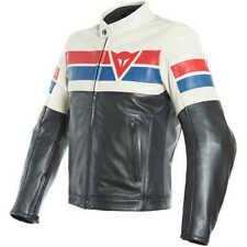 Dainese 1533737 Giacca in Pelle da Moto Multicolore (nero/rosso/fumé) 54 DAINE