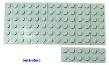 LEGO® /  2x6 Platten hellgraue/grau / 8 Stück