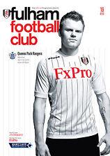 Fulham V Qpr 2012/13 programa Mint