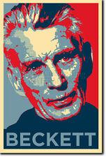 Samuel Beckett PHOTO PRINT POSTER CADEAU (OBAMA HOPE INSPIRÉ)