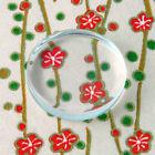 """20 QTY - 1"""" Inch PRO FLAT CIRCLE Glass 25mm Photo Pendant Jewelry Cabochon Tile"""