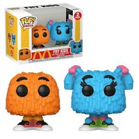 Funko POP Ad Icons McDonald's Fry Kids 2-Pack Orange & Blue NIB - In Stock