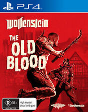 Wolfenstein The Old Blood Sony PlayStation 4 Ps4 Game