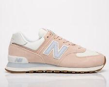 New Balance 574 женские розовая вода морская соль низкий повседневный образ жизни кроссовки, обувь