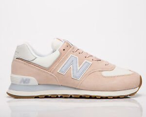 New Balance 574 Women's Rose Water Sea Salt Low Casual Lifestyle Sneakers Shoes