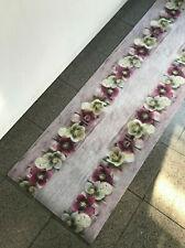 Tappeto Cucina Stuoia Corsia Passatoia Gommato Digitale Fiori Bucaneve 10 misure