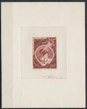 Obervolta Haute Volta 1966 ** Mi.187 Epreuve Artiste signée ESSAY Weltraum Space