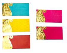5 x Money Envelope Cash Holder Wedding Gift Envelope Shagun Indian Boho Asian