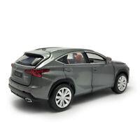 Lexus NX 200T SUV 1/32 Metall Die Cast Modellauto Spielzeug Model Sammlung Grau
