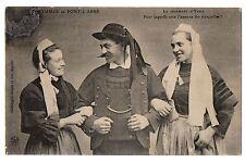 CPA 29 - PONT L'ABBE (Finistère) - Le Jugement d'Yanik . Costumes de Pont-L'Abbé