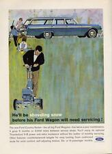1962 Ford Country Sedan Station Wagon Cub Scouts  PRINT AD