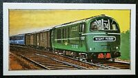 BRITISH RAILWAYS  Class 71   Electric Locomotive   Colour Card