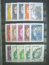 TIMBRES FRANCE-N° 4662A  à  4662Q  MAXI MARIANNE ETOILE D' OR NEUF**