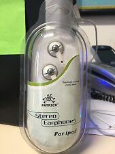 AURICOLARI STEREO PER IPOD-LETTORI MP3 & MP4 IN BLISTER