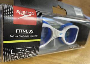 Speedo Futura Biofuse Flexiseal Adult Swimming Goggles