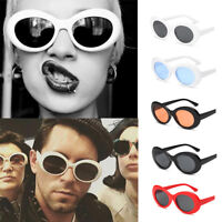 Clout Goggles Sunglasses Kurt Cobain Oval Shades Grunge Unisex Goggles UV400 New