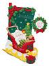 Bucilla 'Christmas Baby' Christmas Felt Stocking Stitchery Embroidery Kit, 86819