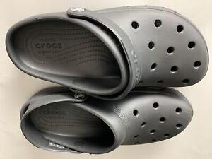 Crocs Coast Gray Clog Men's Size 8 Women Size 10