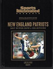 Sports Illustrated 2017 New England Patriots Super Bowl LI Hard Cover Edition NM