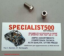 COPPIA  BULLONI  SFIATO TESTATA ( 2 PEZZI)   FIAT 500 F L R D  126