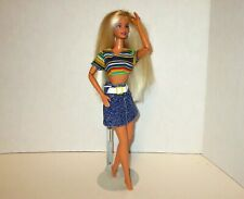 Barbie Fashion Photo Doll 55620 Mattel 2001 Twists Waist & Turns Head