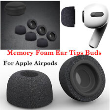 Sponge Memory Foam Replacement Ear Tips Buds for Airpods Pro Headphones