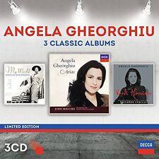 Angela Gheorghiu - Angela Gheorghiu: Three Classic Albums [New CD] Ltd Ed