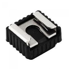 "Flash Hot Shoe Mount Adapter 1/4"" Thread For Studio Light Stand Tripod UK Seller"
