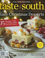Taste of the South    Christmas Deserts  2019