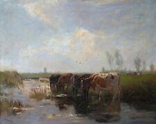 Öl-Gemälde alt antik Romantik Impressionismus Jugendstil Landschaft 1900