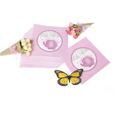 20x/bag Baby Shower Tovaglioli di carta Tovaglioli PINK Girl Party decoration VN