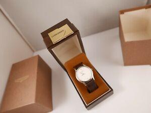 Very Rare Longines vintage box watch etui case vintage men's mint