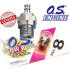OS No. 8 Nitro Glow Plug RC Car Heli Areo HPI Traxxas Hyper 7 ST SS Nitro Engine