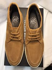 GEORGE BROWN BILT Men's Suede Foster Moccasin Tan Chukka Boots Size 10.5M $195