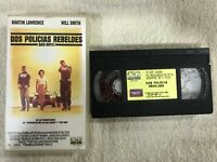 DOS POLICIAS REBELDES VHS TAPE BAD BOYS WILL SMITH MARTIN LAWRENCE COLUMBIA