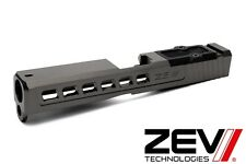 Zev Technologies Dragonfly RMR Plate Abs Co-wit Titanium Gray Glock 19 Gen 1-3