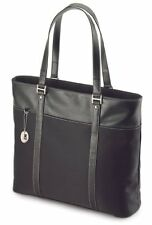 Ultra Tote Notebook Case - Top Loading - Leather - Black - Notebook Case