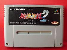 Fatal Fury 2 Jeu NTSC Super Famicom SNES Nintendo Import Japon