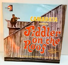 Camarata Conduct Fiddler On The Roof With the Mike Sammes Singers VINYL LP